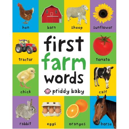 1st Farm Words (Board Book) (Bittersweet Farm Book 9)