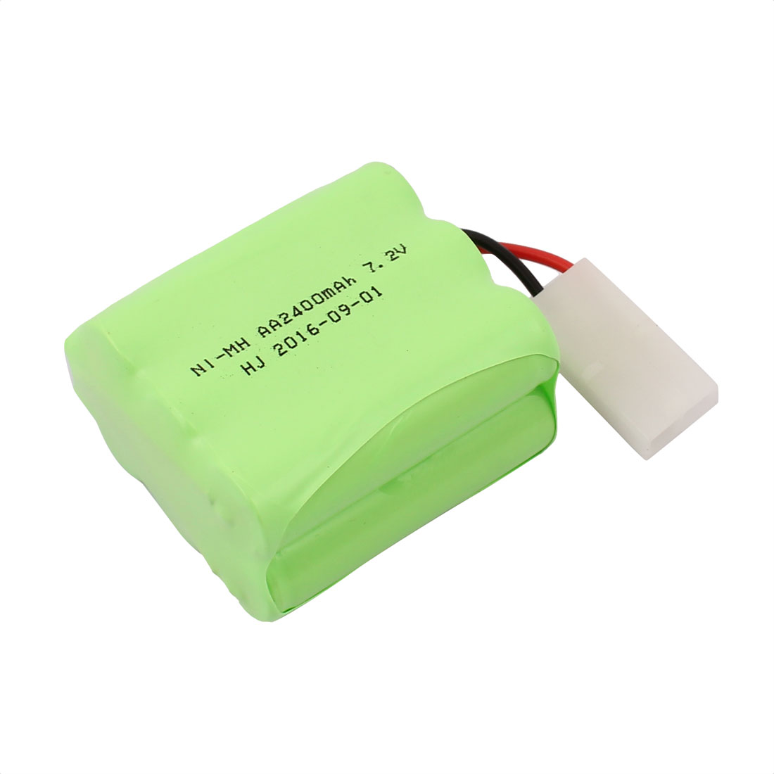 Unique Bargains DC 7.2V 2400mAh Rechargable Ni-MH 6 x AA Batteries Pack for RC Boat Aircraft