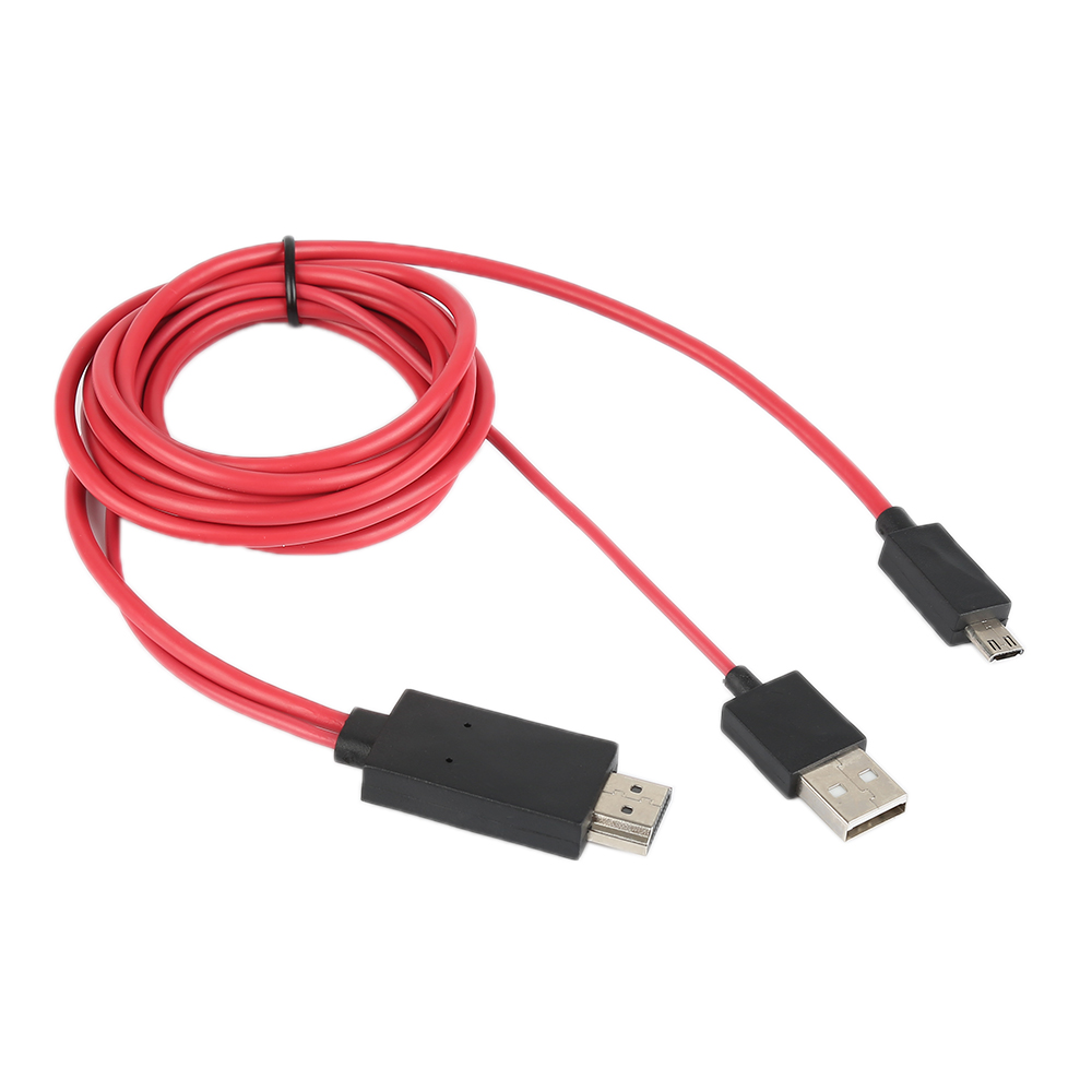 Jeobest MHL Micro USB to HDMI 1080P HD TV Cable Adapter for Samsung Galaxy S4 S3 Note 2 MZ