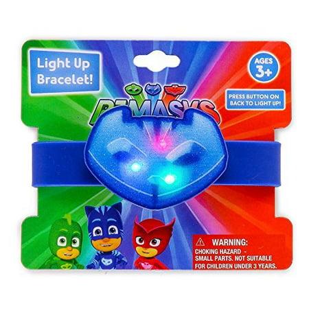 PJ Masks Kids 1 Light Up Bracelet - (Styles May Vary) - Bracelet Light