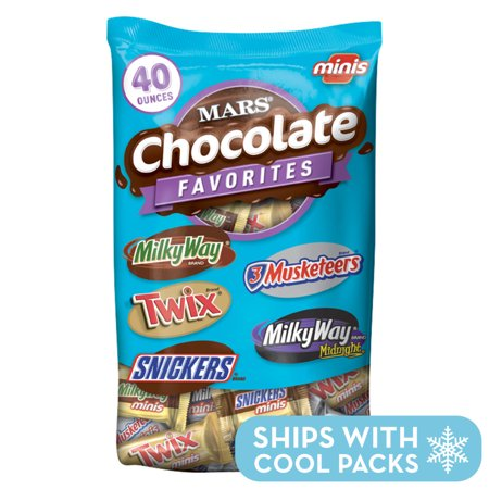 MARS Chocolate Minis Size Candy Variety Mix, 40 Ounce Bag