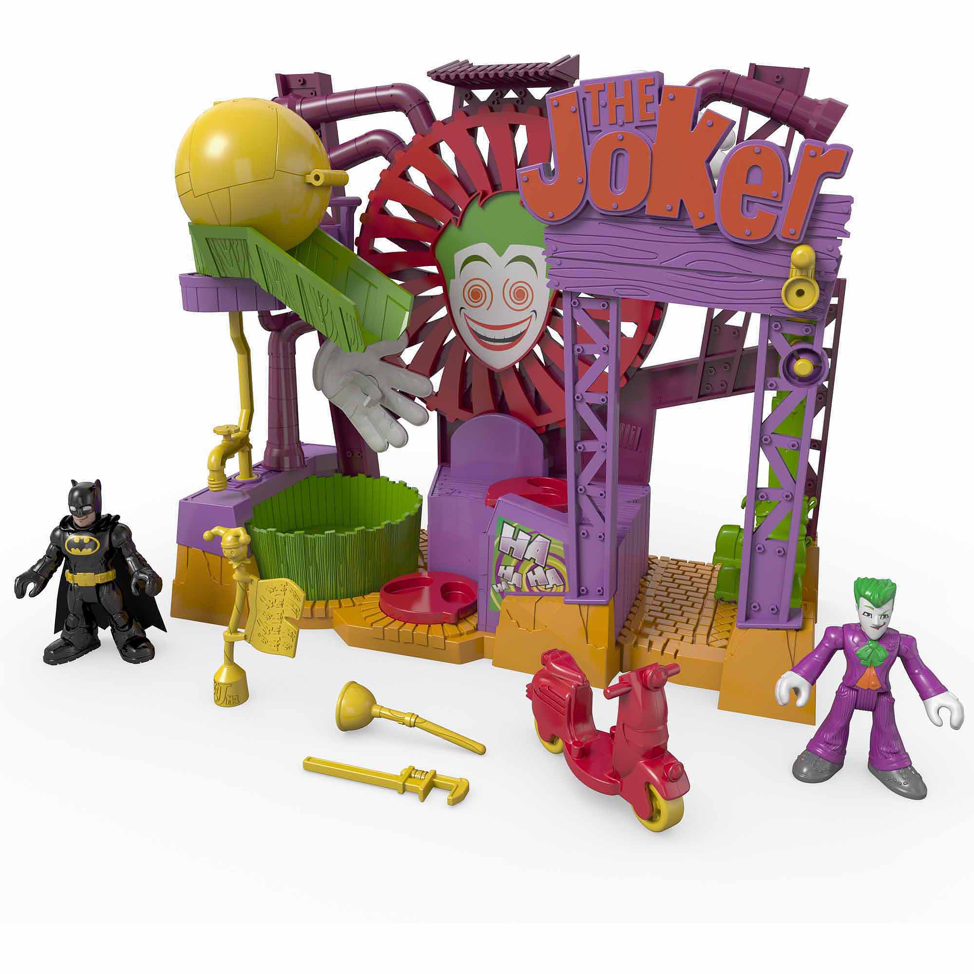 Fisher-Price Imaginext DC Superfriends the Joker Laff Factory