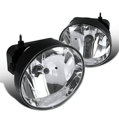Spec-D Tuning For 2002-2009 Gmc Envoy Denali Sle Slt Clear Bumper Fog Light Driving Lamps W/ 880 Bulbs (Left+Right) 2002 2003 2004 2005 2006 2007 2008 2009