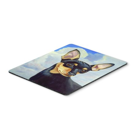 Min Pin Mouse Pad, Hot Pad or Trivet