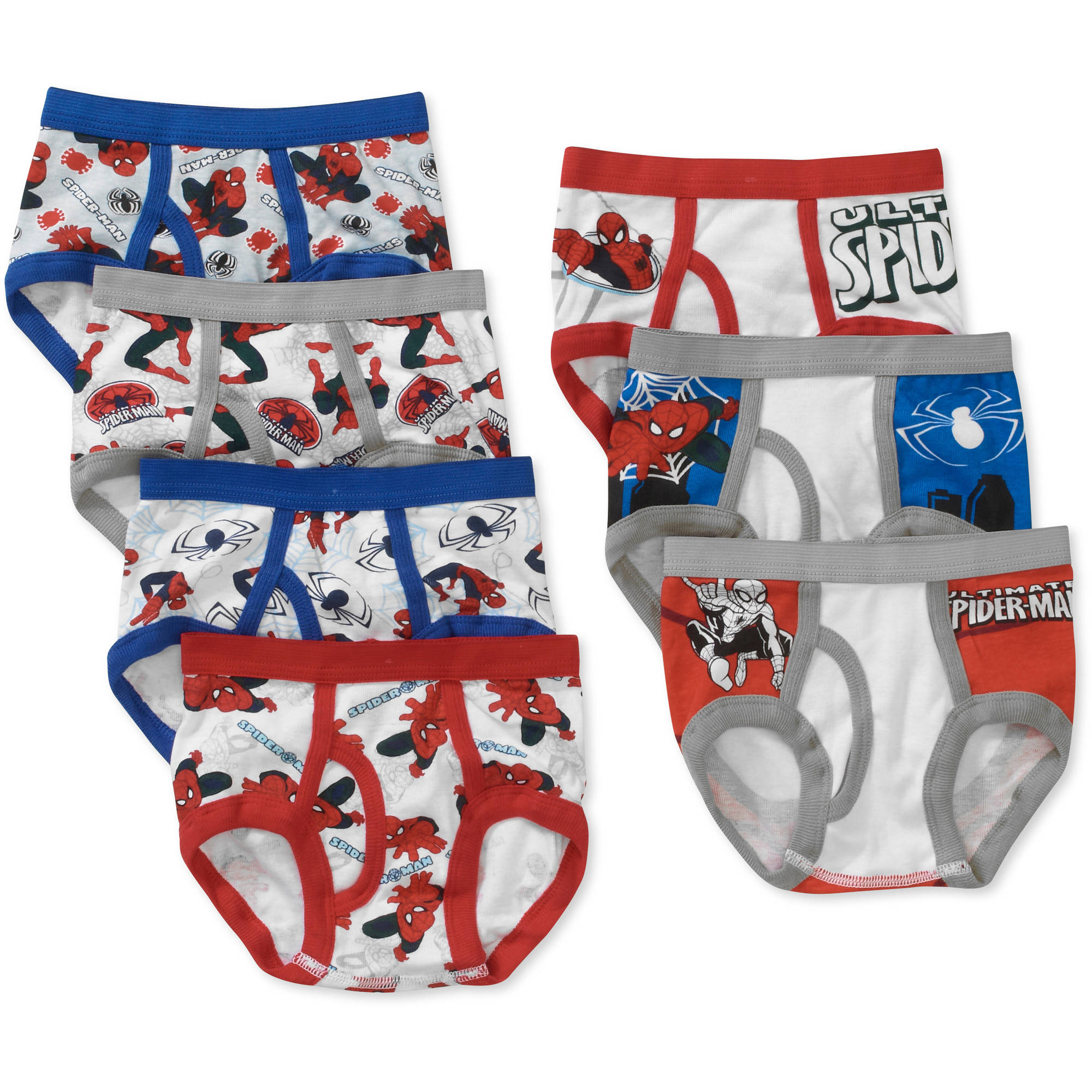 Spiderman Toddler Boys Underwear, 7 Pack - Walmart.com
