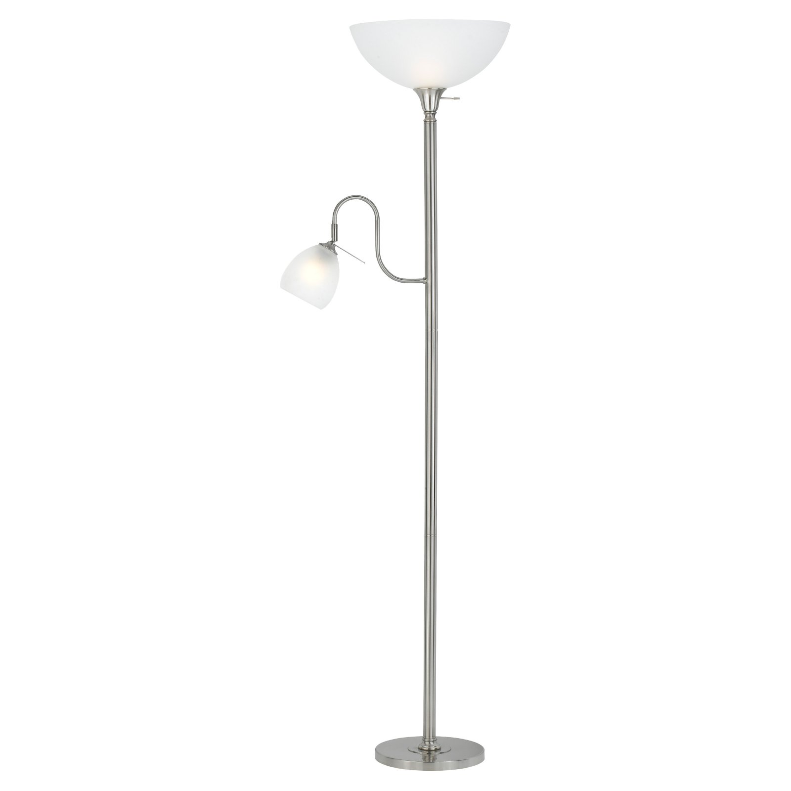 Cal Lighting BO-2054-BS Torchiere and Reading Floor Lamp by CAL Lighting