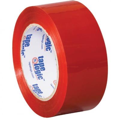 Red Carton Sealing Tape SHPT90222R6PK