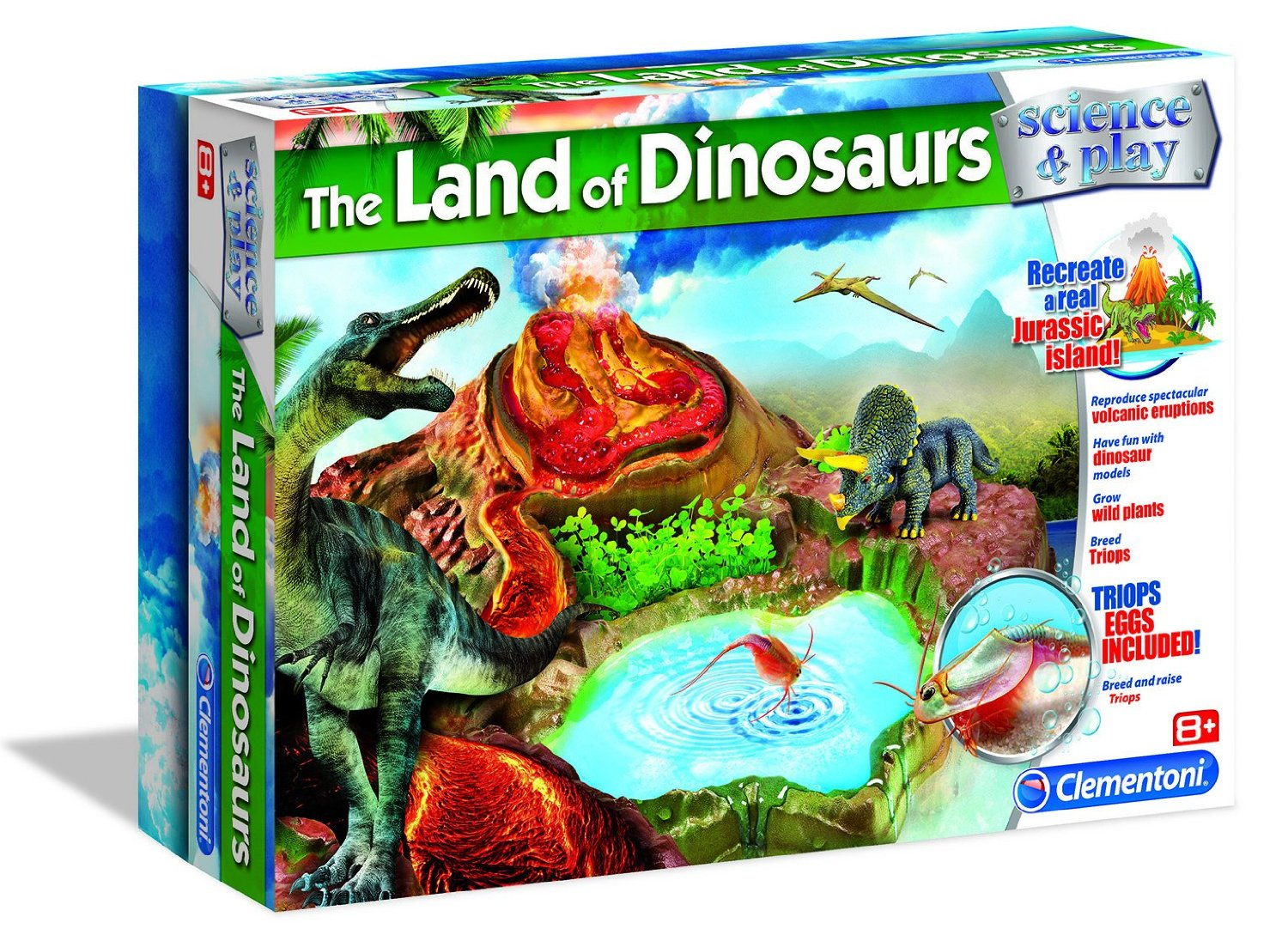Educational Games Creative Toys Land of Dinosaurs Kids 61209 by Creative Toys