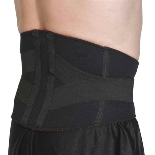 Thermo Skin Lumbar Support in Black (X-Large)