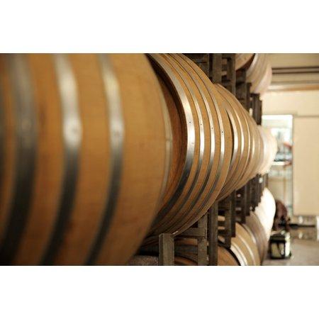 Canvas Print Oak Barrels Wine Barrel Stretched Canvas 10 x (5 Gallon Oak Wine Barrels For Sale)