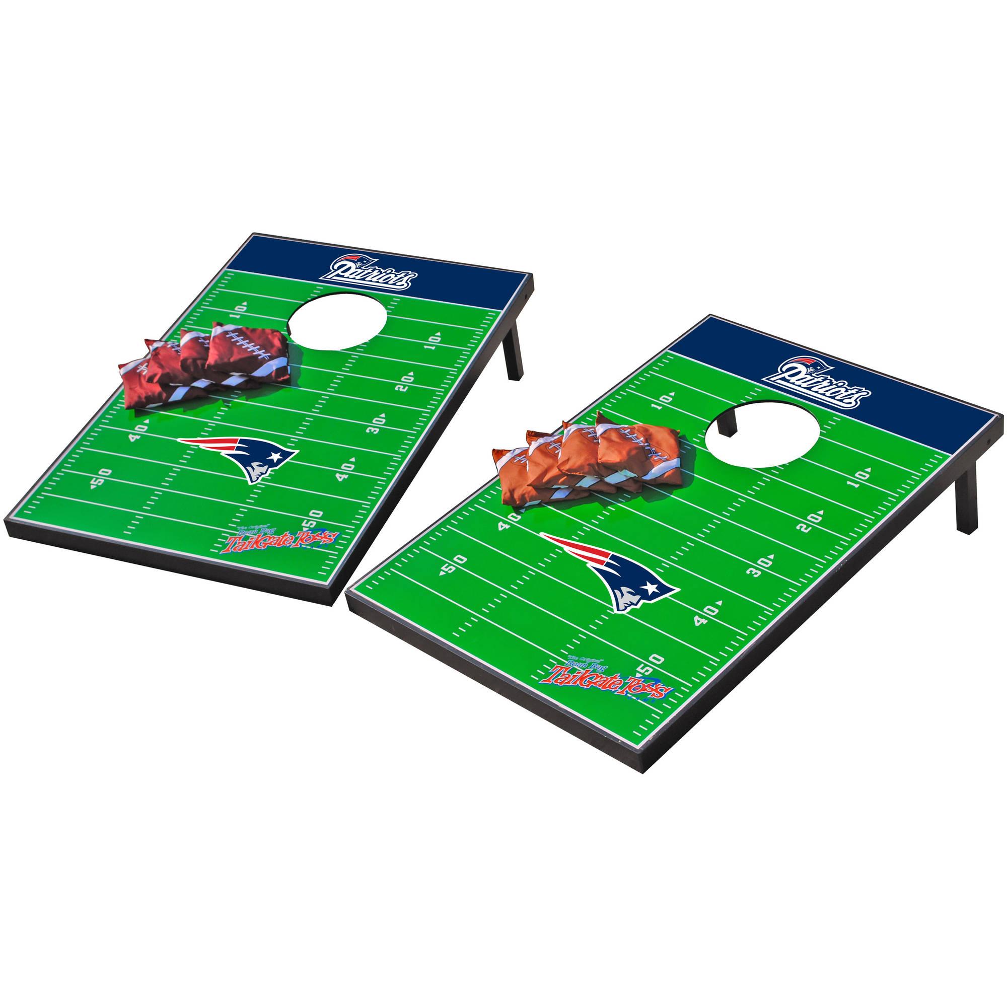 Wild Sports NFL New England Patriots 2x3 Field Tailgate Toss by Wild Sports