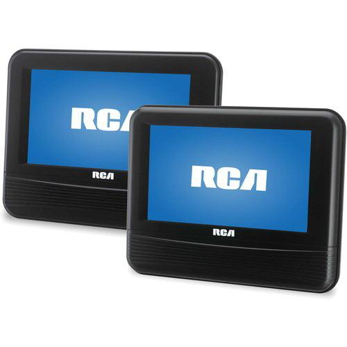 "RCA 7"" Dual DVD Player - Walmart.com"