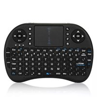 Mini i8 Wireless Qwerty Keyboard Multimedia Remote Control Keys and PC Gaming Control Touchpad Handheld Keyboard for PC Pad Android Smart TV