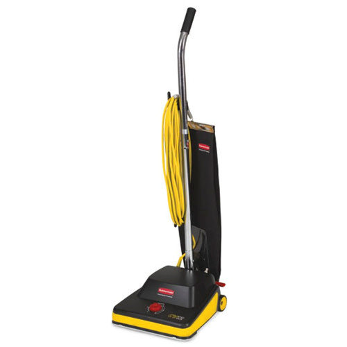 Rubbermaid Commercial Products 9VCV12 Commercial Vacuum Upright 12in 50' Cord Black/Yellow
