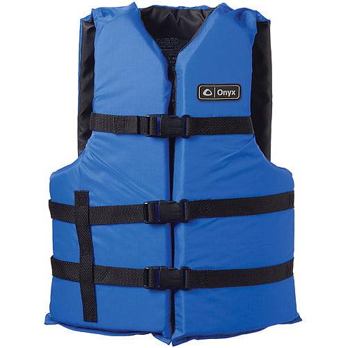 Kent Marine 3570-0132 Adult Universal Blue General Purpose Life Vest by Kent Marine