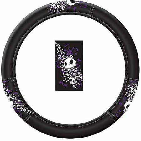 plasticolor nightmare before christmas bones steering wheel cover - Nightmare Before Christmas Steering Wheel Cover