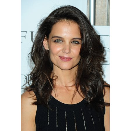 Katie Holmes At Arrivals For Dujour Cover Party Phd Rooftop Lounge At Dream Hotel Downtown New York Ny September 16 2014 Photo By Gregorio T Binuyaeverett Collection Photo Print