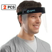 Face Shield Safety Full Face Shield Transparent Visor with Eye and Head Protection Anti-Spitting Splash Facial Cove