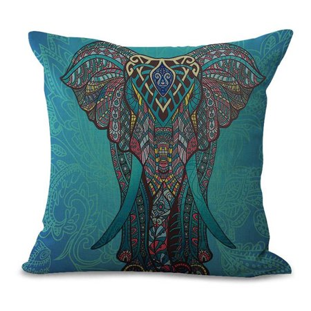 Products include:1x pillow caseName: pillowcaseMaterial: Cotton and linenProcess: printingSize: 45 * 45cmWeight: 100g - image 2 de 3