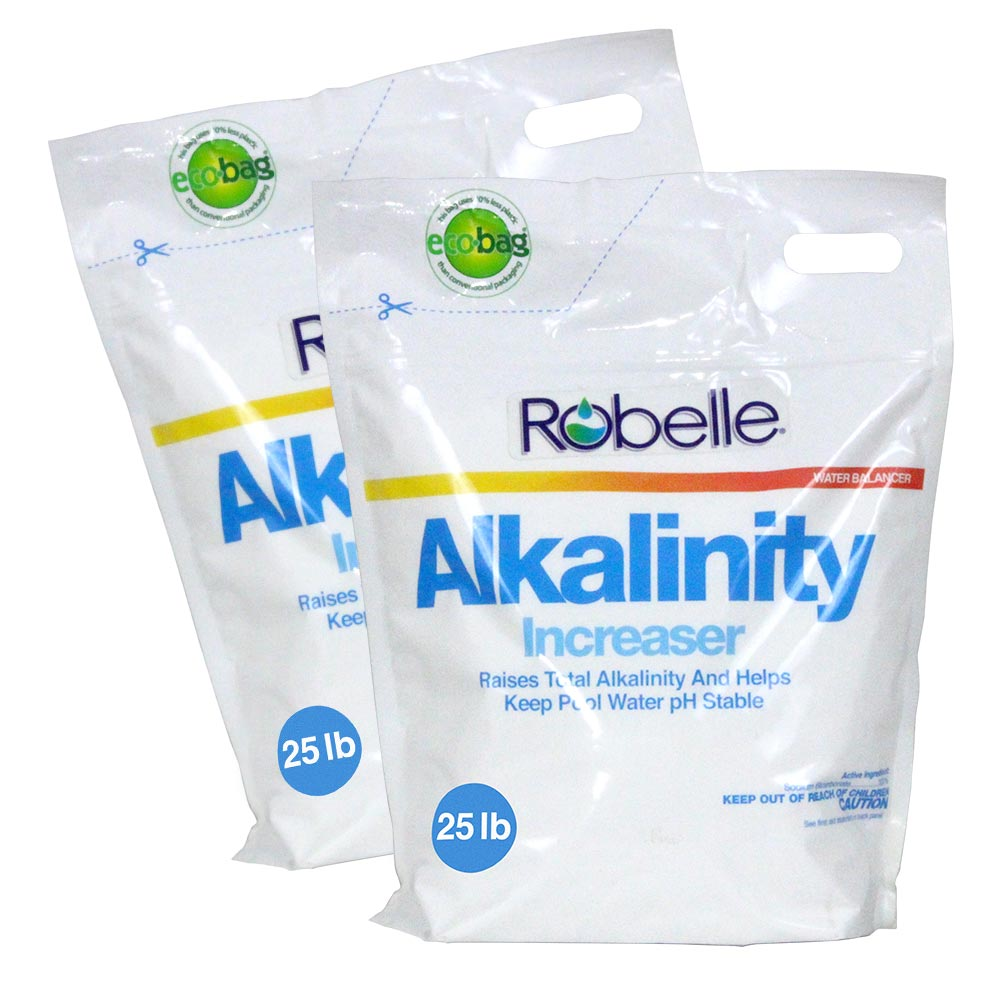 Robelle Total Alkalinity Increaser for Swimming Pools, 50 Pounds