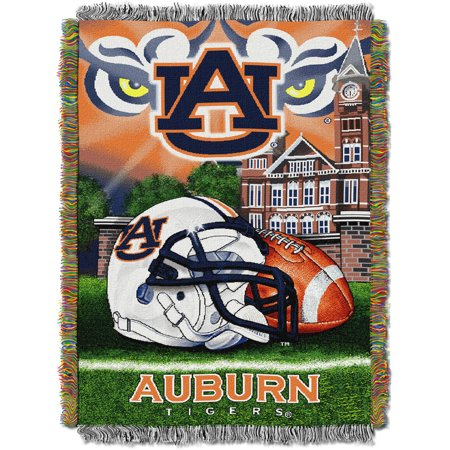 "NCAA 48"" x 60"" Tapestry Throw Home Field Advantage Series- Auburn"