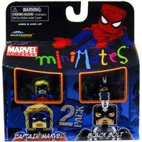 Minimates Series 31 Black Bolt & Captain Marvel Minifigure 2-Pack