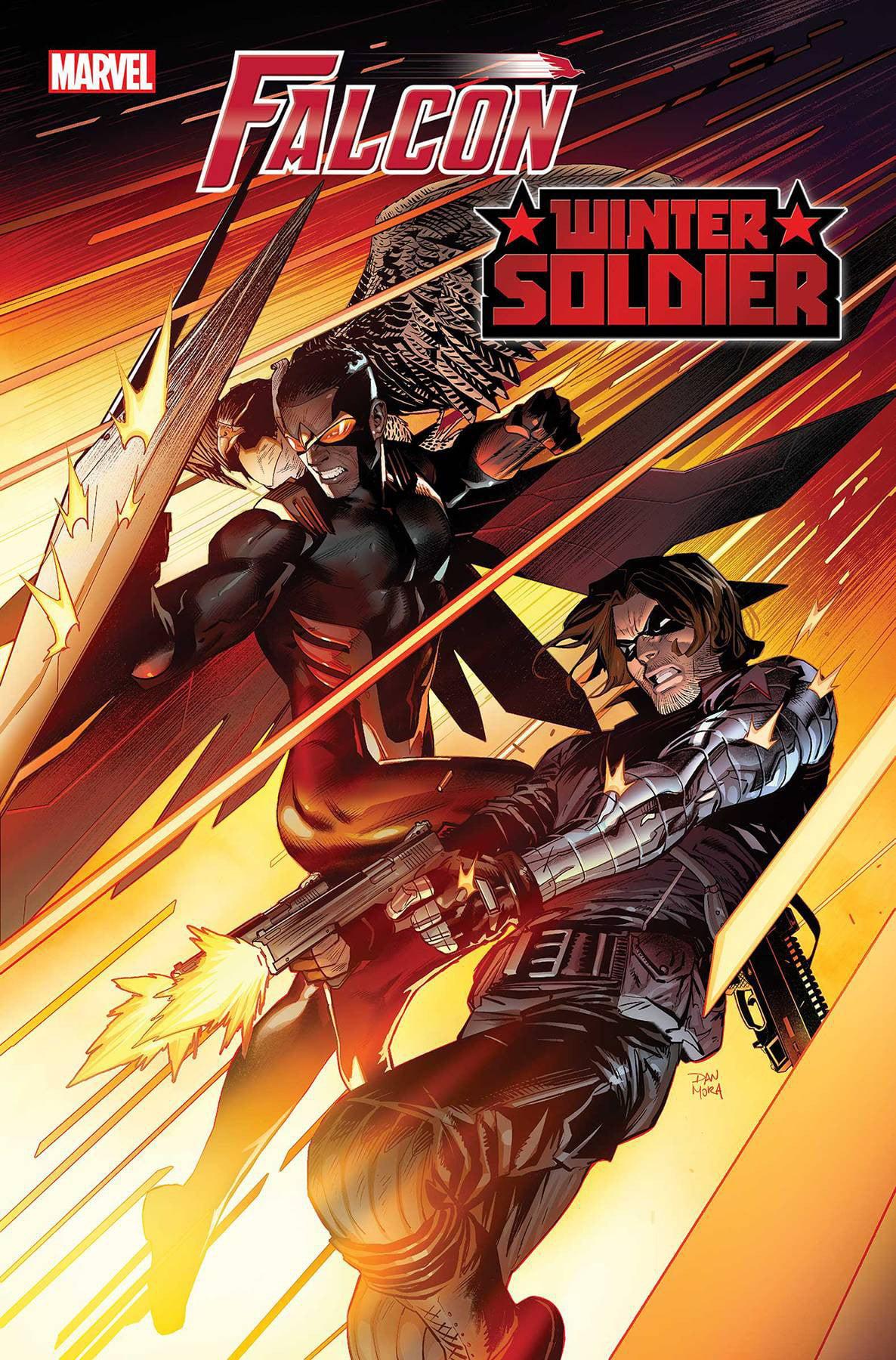 Marvel Comics Falcon Winter Soldier 1 Of 5 Walmart Com Walmart Com