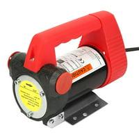 LYUMO Car Oil Diesel Suction Extractor Transfer Pump 12V 175W,Oil Transfer Pump, 175W Car Oil Pump