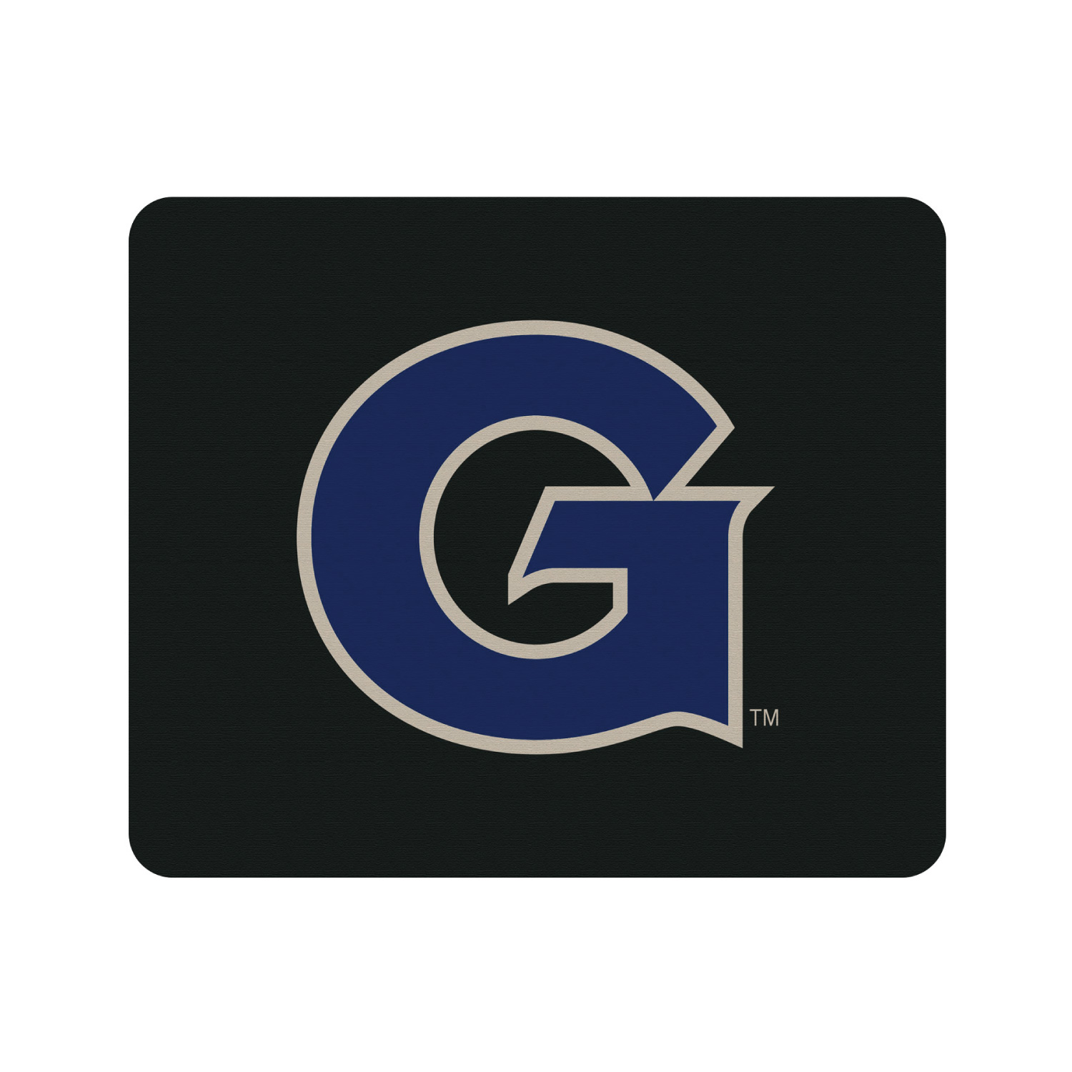 Georgetown University Black Mouse Pad, Classic