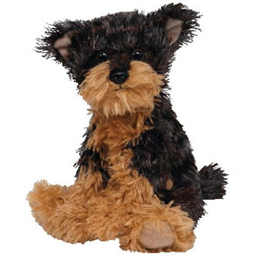 Ty Beanie Baby Tyger The Yorkie Dog Dark Version 1st Release
