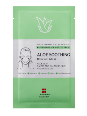 Leaders Cosmetics Aloe Soothing Renewal Face Mask