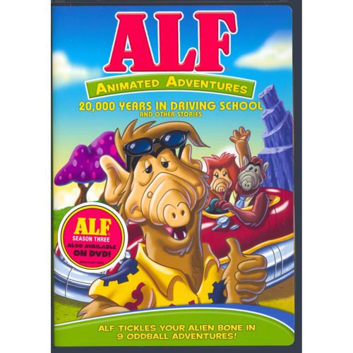 ALF: Animated Adventures - 20,000 Years In Driving School And Other Stories (Full Frame)