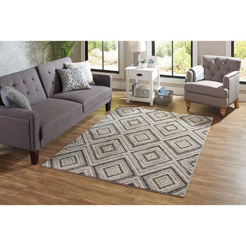 Better Homes and Garden Grey Diamond Rug