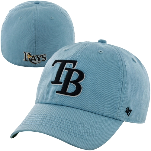 Tampa Bay Rays '47 Franchise Fitted Hat - Light Blue