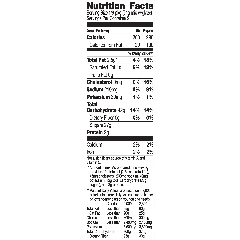 Donut Nutrition Facts Krispy Kreme Blog Dandk