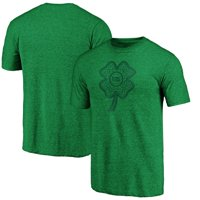 Detroit Pistons Fanatics Branded St. Patrick's Day Celtic Charm Tri-Blend T-Shirt - Green