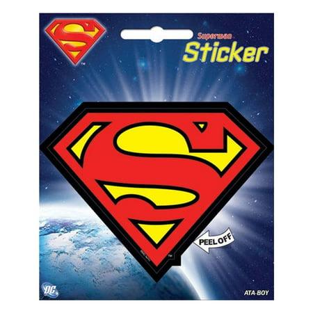 Superman Logo Stickers Walmart