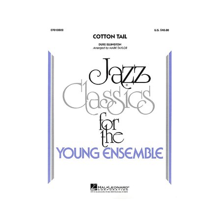 Hal Leonard Cotton Tail Jazz Band Level 3 Arranged by Mark