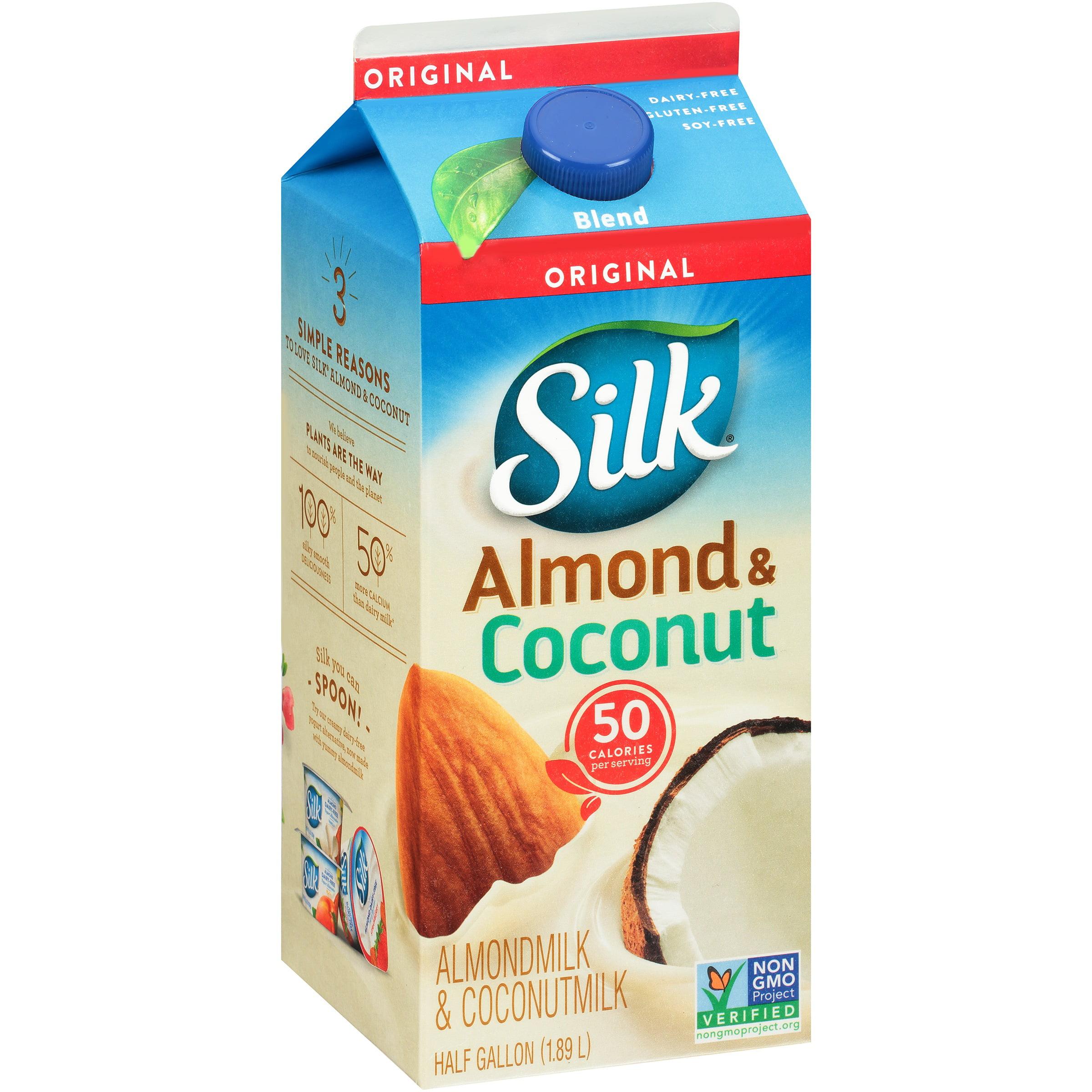 Silk Original AlmondCoconut Blend, 0.5 gal - Walmart.com