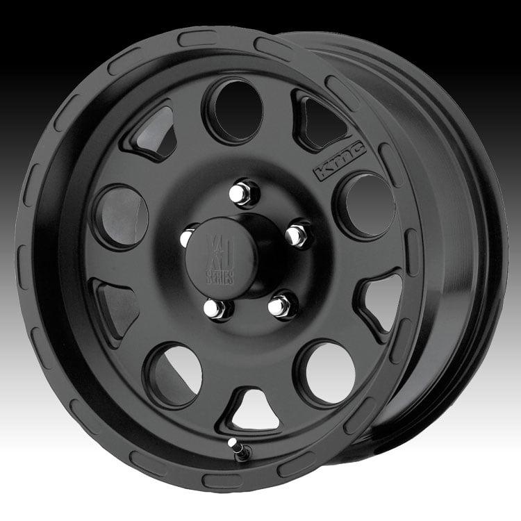 KMC XD XD122 Enduro Matte Black 18x9 5x5 0mm (XD122890507...