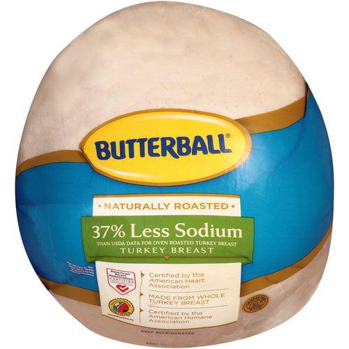 Butterball Low Salt Turkey Breast, Deli Sliced