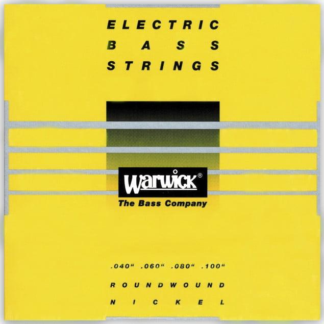 Warwick Strings Yellow Nickel 4-String Medium Light 40-100