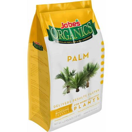 Jobe's Organics Palm Fertilizer, 4 lbs