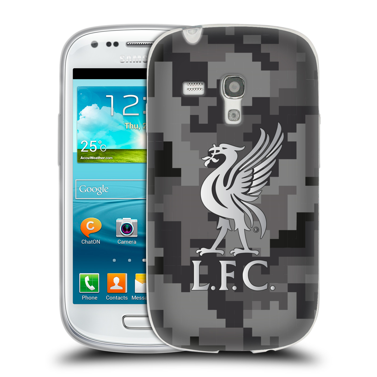 OFFICIAL LIVERPOOL FOOTBALL CLUB DIGITAL CAMOUFLAGE SOFT GEL CASE FOR SAMSUNG PHONES 2