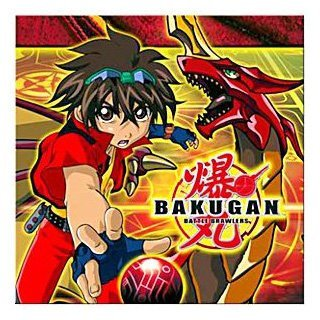 - Bakugan Birthday Party Supplies - Beverage Napkin