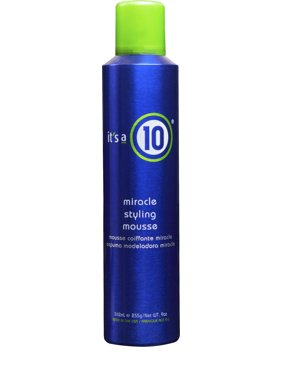 It's a 10 Miracle Styling Hair Mousse, 9 Oz