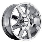 Ultra Phantom 18 Chrome Wheel / Rim 5x150 with a 25mm Offset and a 110 Hub Bore. Partnumber 225-8950C+25