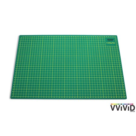 Reversible Craft Cutting Mat for Siser, ORACAL Self-Healing Gridded Ruled Green Mat VViViD