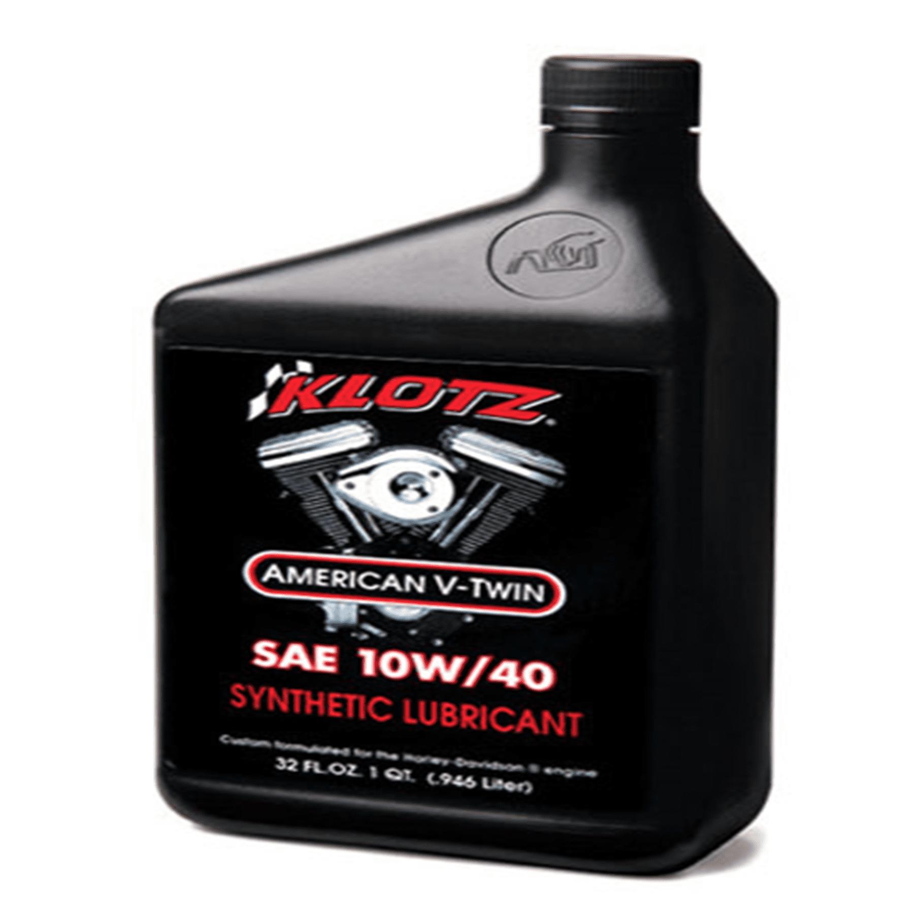 KLOTZ V-TWIN 10W40 OIL (QT)