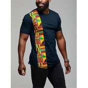 Men Short Sleeve African Printed Shirt Casual Tops